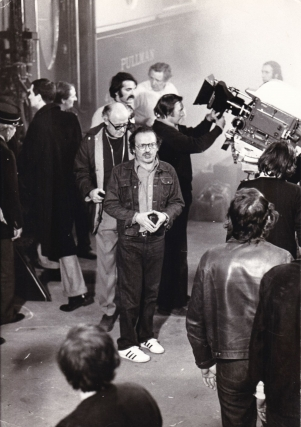 Murder on the Orient Express (Original photograph from the set of the 1974 film). Sidney Lumet,...