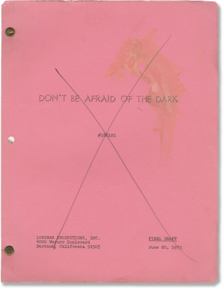 Don't Be Afraid of the Dark (Original screenplay for the 1973 television film). John Newland,...