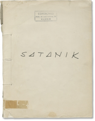 Satanik (Original screenplay for an unproduced Spanish film). Film screenplays
