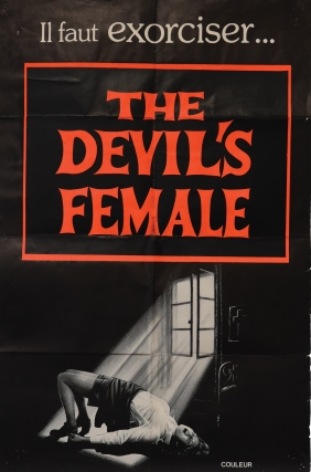 The Devil's Female [Magdalena, Possessed by the Devil, Beyond the Darkness] (Original poster for...