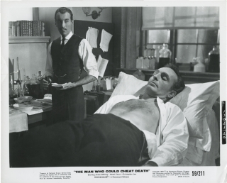 The Man Who Could Cheat Death (Original photograph from the 1959 film). Terence Fisher, Barre...