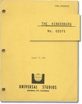 The Hindenburg (Original screenplay for the 1975 film). Robert Wise, Michael M. Mooney, William...