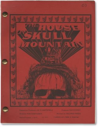 The House on Skull Mountain (Original screenplay for the 1974 film). Ron Honthaner, Mildred...