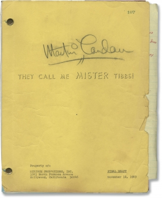 They Call Me MISTER Tibbs! (Archive of material belonging to actor Martin Landau, including his...