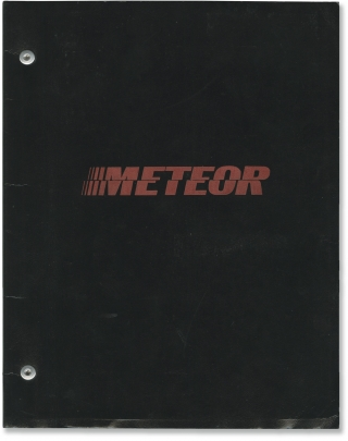 Meteor (Original screenplay for the 1979 film). Ronald Neame, Edmund H. North Stanley Mann,...