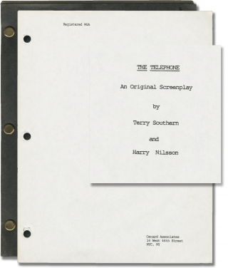 The Telephone (Original screenplay for the 1988 film). Terry Southern, Harry Nilsson, Rip Torn,...