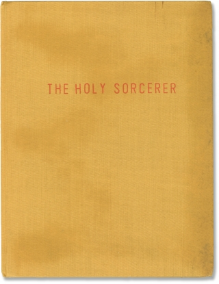 The Holy Sorcerer (Original treatment script for an unproduced film). Giampaolo Lomi, screenwriter
