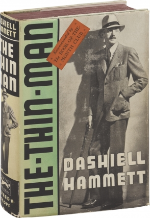 The Thin Man (First Edition, green jacket variant). Dashiell Hammett