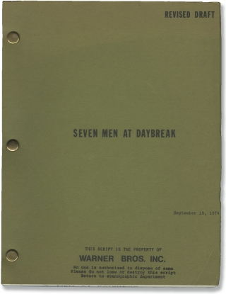 Operation: Daybreak [Seven Men at Daybreak] (Original screenplay for the 1975 film). Lewis...