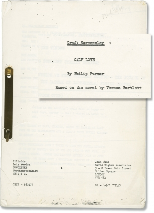 The Wednesday Play: Calf Love (Original screenplay for the 1966 television episode). Gilchrist...