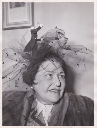 Original photograph of Louella Parsons