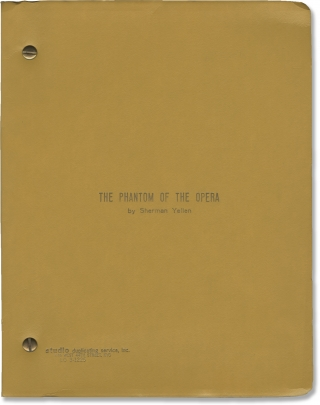 The Phantom of the Opera (Original screenplay for the 1983 television film). Robert Markowitz,...