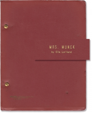 Mrs. Munck (Original screenplay for the 1995 television film). Diane Ladd, Ella Leffland, Kelly...