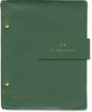 Da (Original script for the 1978 play). Hugh Leonard, Melvin Bernhardt, Brian Murray Barnard...