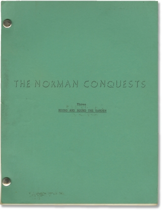 The Norman Conquests: Round and Round the Garden (Original script for the 1975 play). Alan...