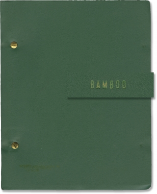 Bamboo (Original script for an unproduced musical play). Arnold Meyer, David McHugh, book, lyrics...