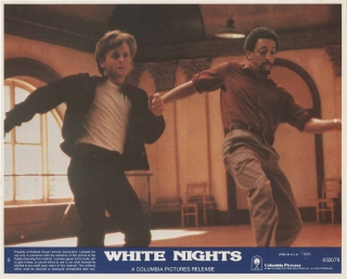 White Nights (Two original color photographs from the 1985 film). Taylor Hackford, James Goldman,...
