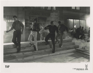 Tap (Collection of 15 original photographs from the 1989 film). Nick Castle, Sammy Davis Jr....