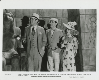 The Purple Rose of Cairo (Original photograph from the 1985 film). Allen Woody, Brian Hamill,...