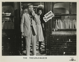 The Troublemaker (Collection of five original photographs from the 1964 film). Buck Henry,...