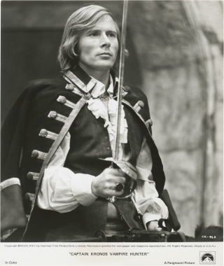 Captain Kronos: Vampire Hunter (Collection of 11 original photographs from the 1974 film). Brian...