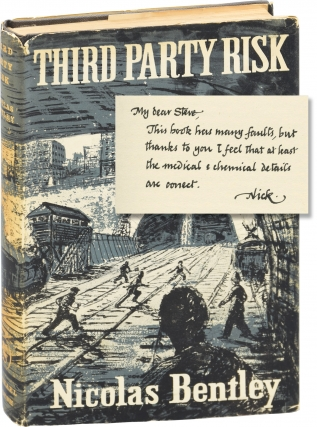 Third Party Risk (Signed First UK Edition). Nicolas Bentley