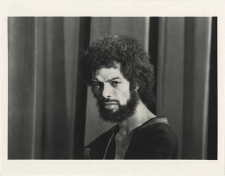 Original photograph of Gil Scott-Heron, circa 1983. Gil Scott-Heron, subject