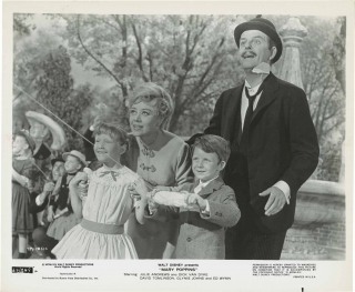 Mary Poppins (Original photograph from the 1964 film). P. L. Travers, Robert Stevenson, Don...