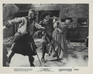 Rob Roy, the Highland Rogue (Three original photographs from the 1954 film). Harold French,...