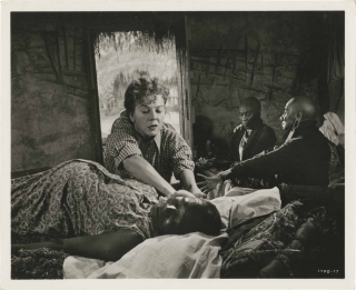 Something of Value (Original photograph from the set of the 1957 film). Richard Brooks, Robert C....