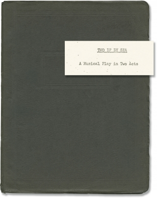 Two If by Sea (Original script for the 1971 play). Priscilla B. Dewey, Constantine Hutchins Jr,...