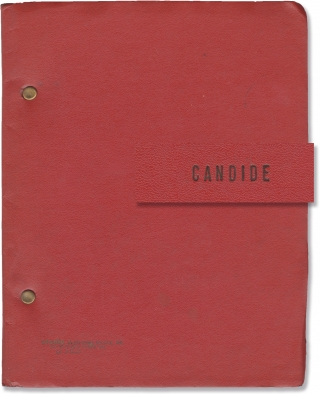 Candide (Original script for the 1974 musical). Leonard Bernstein, Richard Wilbur, Hugh Wheeler,...