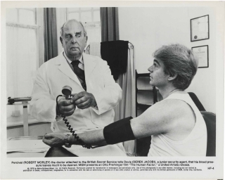 The Human Factor (Two original photographs from the 1979 film). Otto Preminger, Graham Greene,...