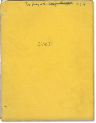 Simon, King of the Witches [Simon] (Original screenplay for the 1971 film). Bruce Kessler, Robert...