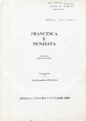Francesca and Nunziata