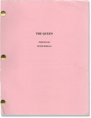 The Queen (Original screenplay for the 2006 film). Stephen Frears, Peter Morgan, James Cromwell...