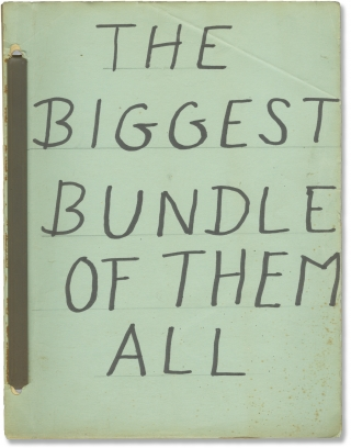 The Biggest Bundle of Them All (Original screenplay for the 1968 film). Ken Annakin, Josef...