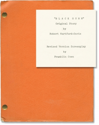 Black Gunn (Original screenplay for the 1972 film, copy belonging to actor Martin Landau). Robert...