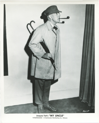 Mon Oncle (Original photograph from the 1958 film). Jacques Tati, Andre Dino, Jean L'Hote Jacques...