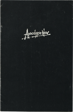 Apocalypse Now (Original Pressbook for the 1979 film). Francis Ford Coppola, Joseph Conrad, John...
