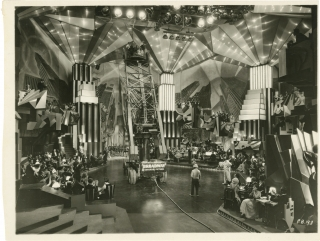 Broadway (Original keybook photograph from the set of the 1929 film). Paul Fejos, George Abbott...