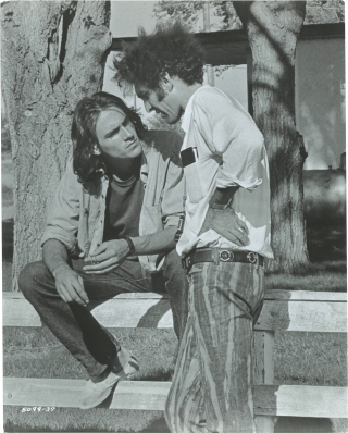 Two-Lane Blacktop (Original photograph from the set of the 1971 film). Monte Hellman, John R....