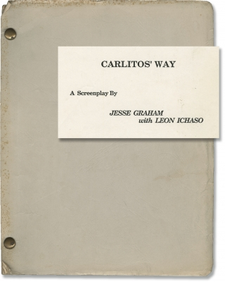 Carlito's Way (Original screenplay for the 1993 film). Brian De Palma, Edwin Torres, Jesse Graham...