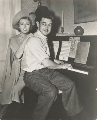 The Great McGinty (Original photograph of Preston Sturges and Muriel Angelus on the set of the...