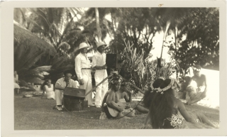 Tabu: A Story of the South Seas (Original photograph from the set of the 1931 film). F. W....