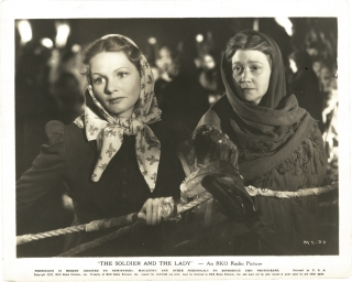 The Soldier and the Lady (Original photograph of Elizabeth Allan and Fay Bainter from the 1937...