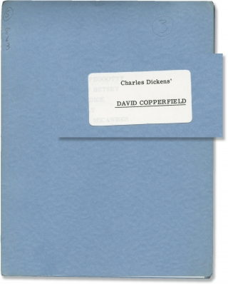 David Copperfield (Original treatment for the 1970 television film). Delbert Mann, Charles...