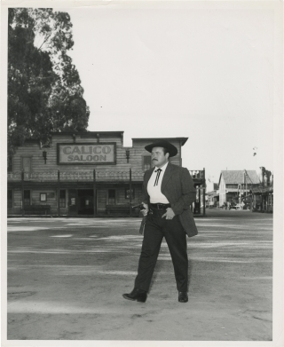 Gunsmoke (Original photograph of William Conrad, circa 1954, for the radio series). William...
