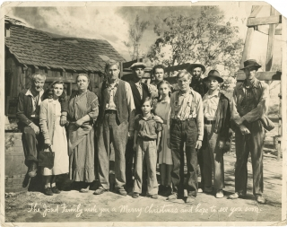 Grapes of Wrath (Original oversize photograph from the 1940 film, with Christmas message). John...