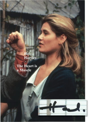 The Heart is a Muscle (First Edition, 1 of 15 copies with print signed by Hal Hartley). Hal Hartley